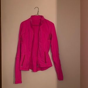 Hot Pink Lululemon Zip Up Jacket